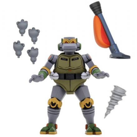 NECA TMNT '87  Ultimate Metalhead Action Figure (Teenage Mutant Ninja Turtles)
